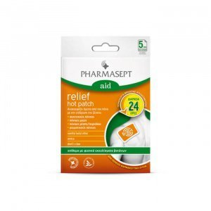 Pharmasept-Relief-Hot-Patch-5τμχ