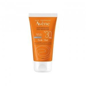 Avene---Soins-Solaires-Fluide-SPF30,-Λεπτόρρευστη-Αντηλιακή-Προσώπου-για-Κανονικό-Μικτό-Λιπαρό-Δέρμα,-50ml (1)