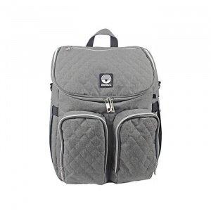 Dooky-Τσάντα--αλλαξιέρα-Backpack---Grey