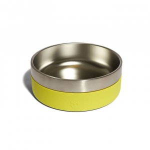 ZeeDog-Μπολ-Φαγητού-για-Σκύλους-Tuff-Κίτρινο-2Lt