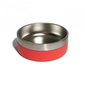 ZeeDog-Μπολ-Φαγητού-για-Σκύλους-Tuff-Κοραλί-2Lt